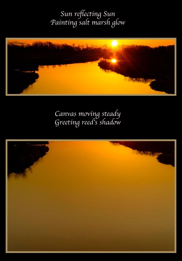 SUN REFLECTING SUN